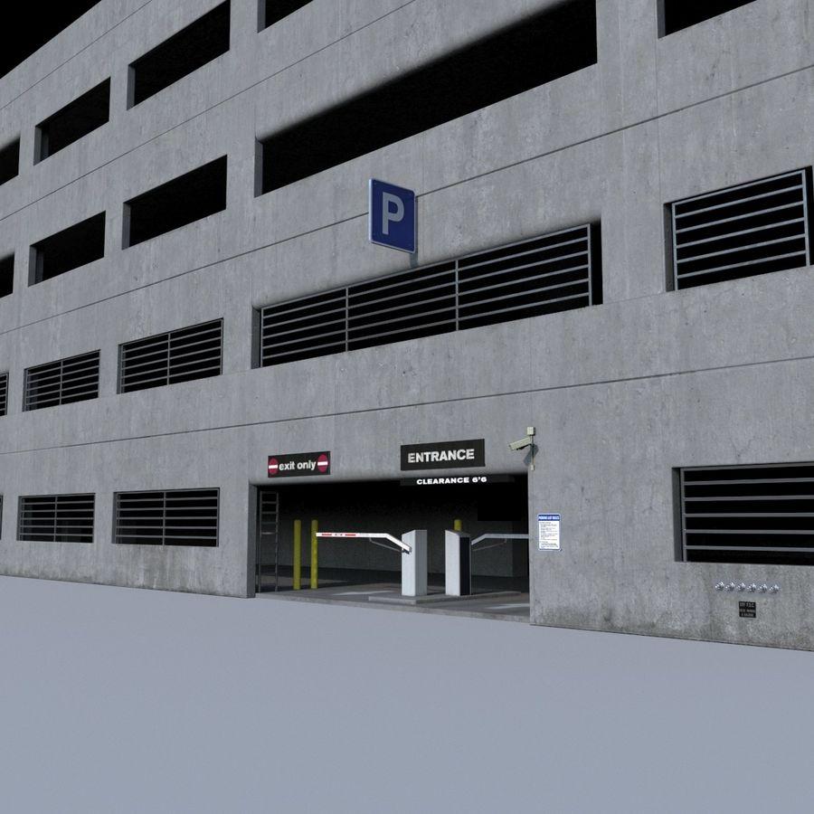 駐車場 royalty-free 3d model - Preview no. 7