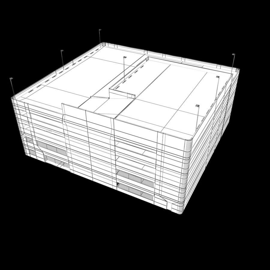 駐車場 royalty-free 3d model - Preview no. 10