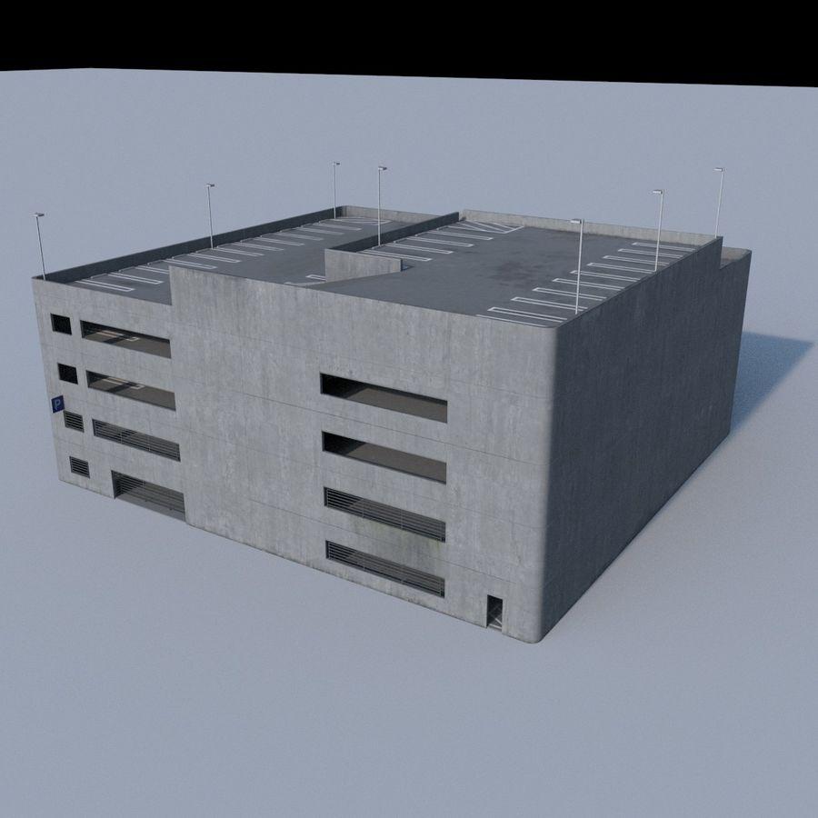 駐車場 royalty-free 3d model - Preview no. 5