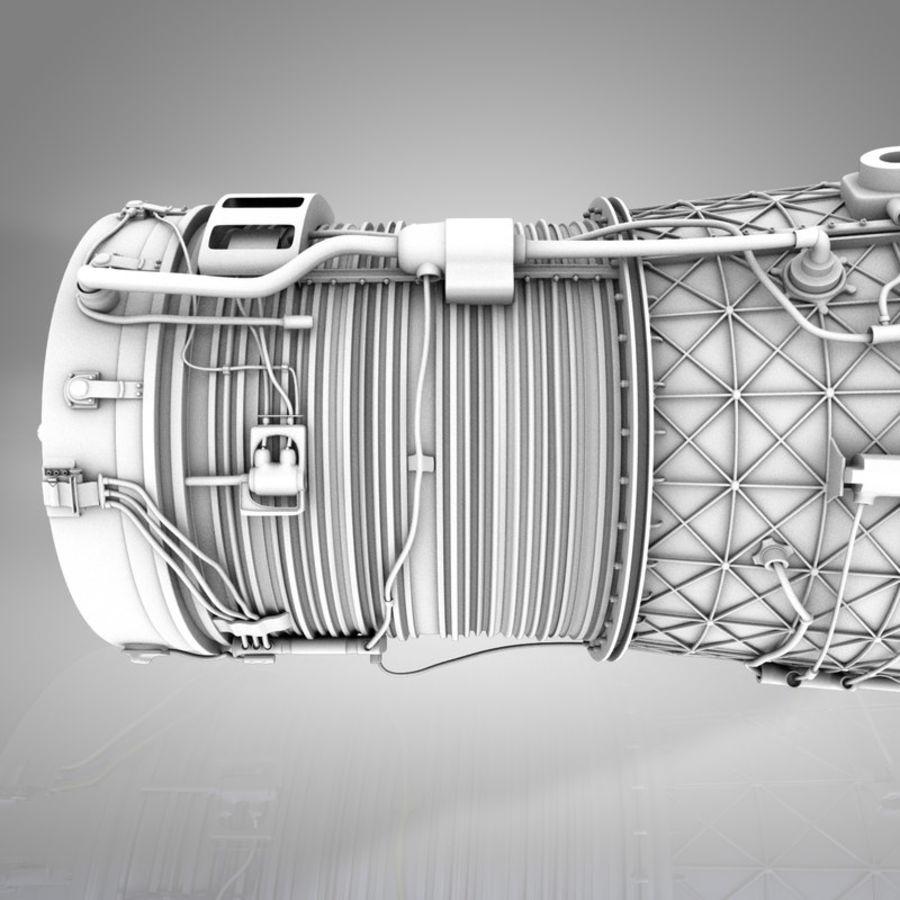 喷气发动机 royalty-free 3d model - Preview no. 9