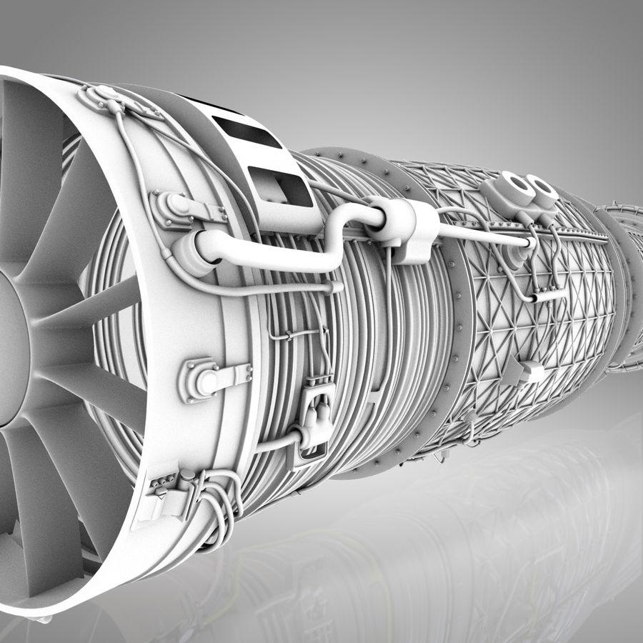 喷气发动机 royalty-free 3d model - Preview no. 3