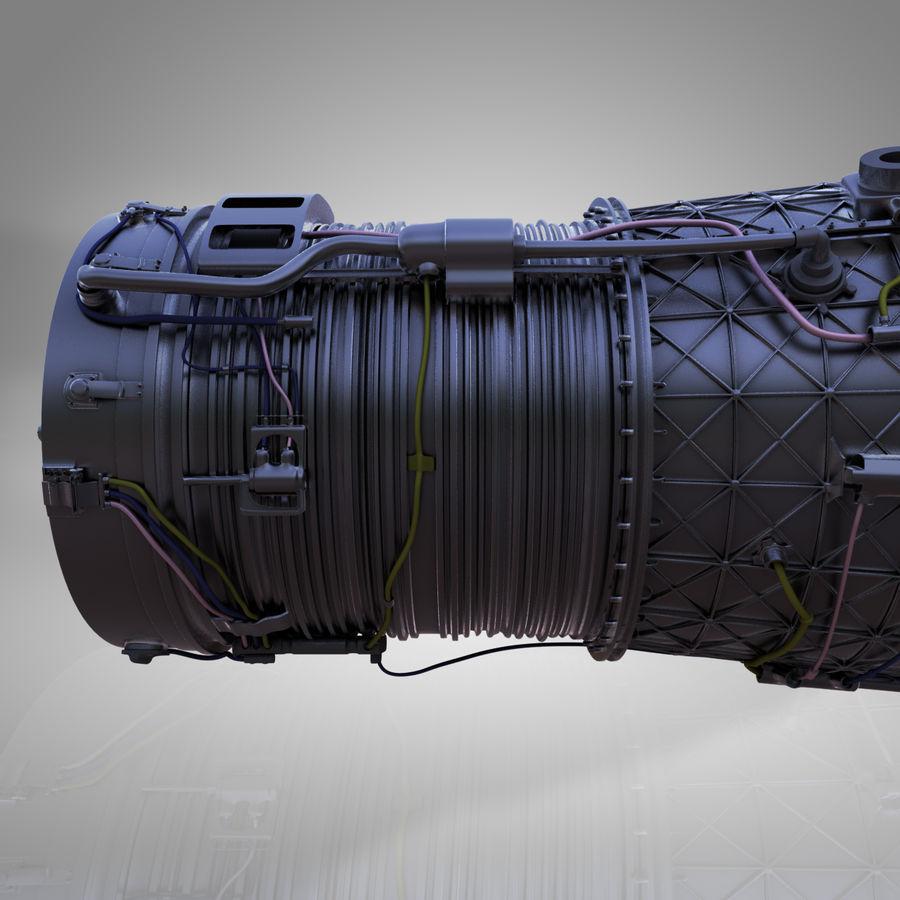 喷气发动机 royalty-free 3d model - Preview no. 7