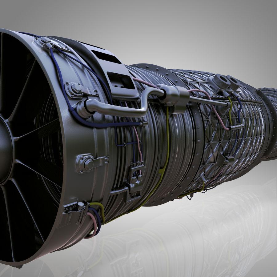 喷气发动机 royalty-free 3d model - Preview no. 1