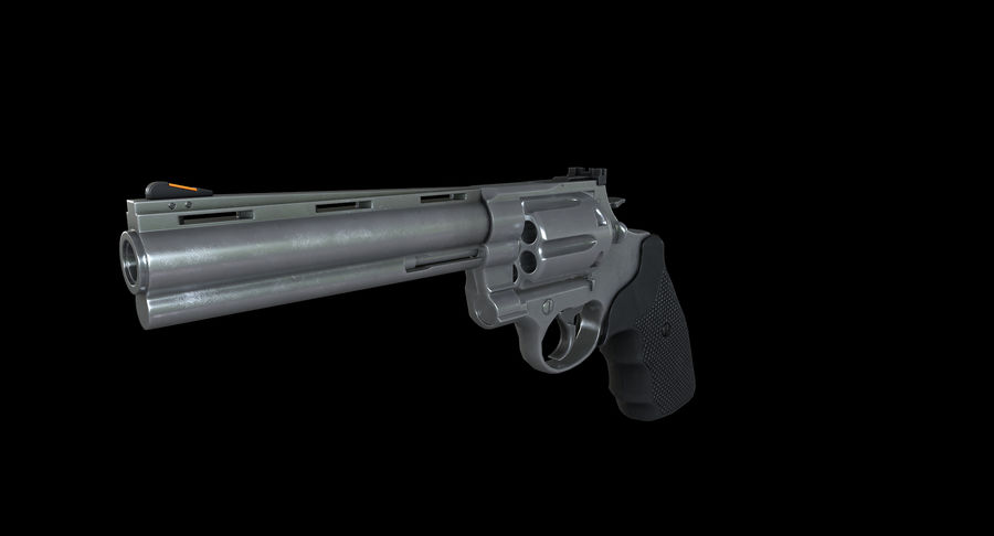 44 Magnum royalty-free 3d model - Preview no. 12