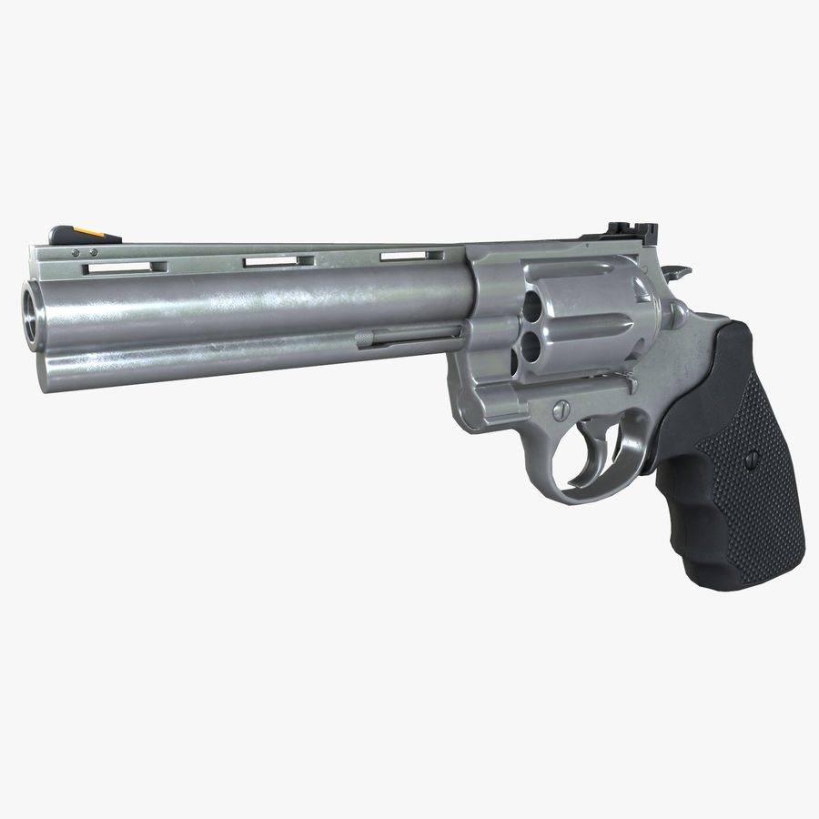 44 Magnum royalty-free 3d model - Preview no. 1
