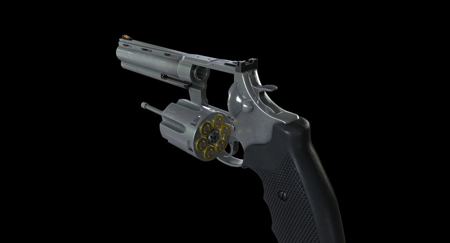 44 Magnum royalty-free 3d model - Preview no. 14