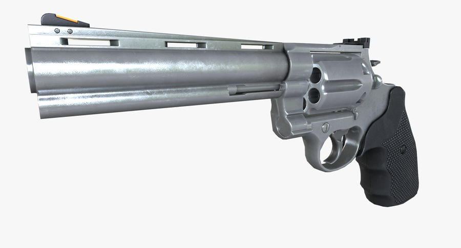 44 Magnum royalty-free 3d model - Preview no. 2