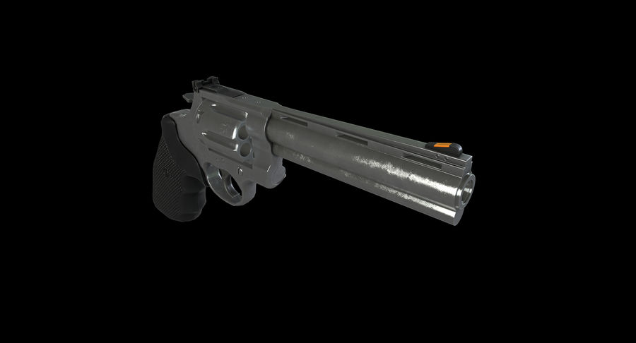 44 Magnum royalty-free 3d model - Preview no. 7
