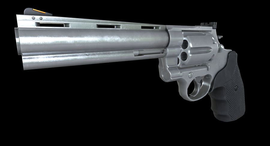 44 Magnum royalty-free 3d model - Preview no. 3