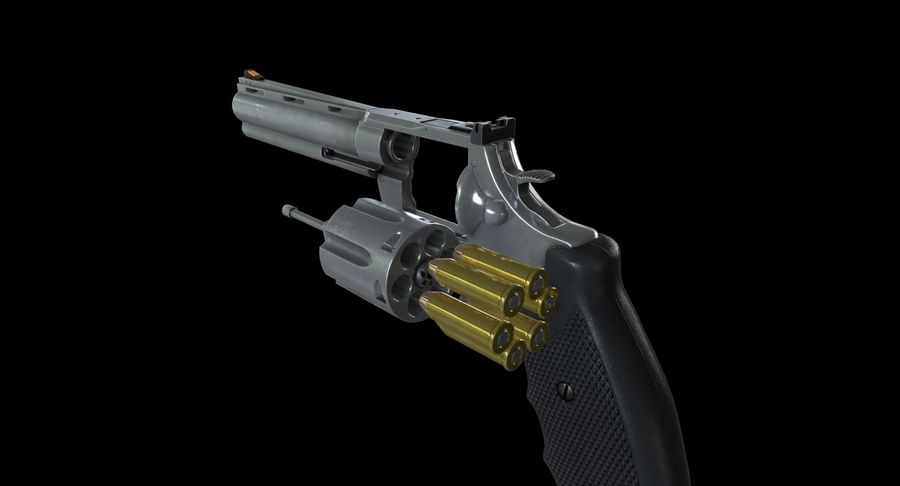 44 Magnum royalty-free 3d model - Preview no. 15