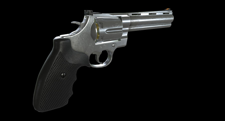 44 Magnum royalty-free 3d model - Preview no. 6