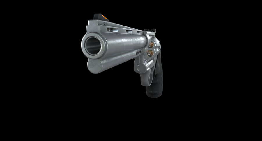 44 Magnum royalty-free 3d model - Preview no. 8