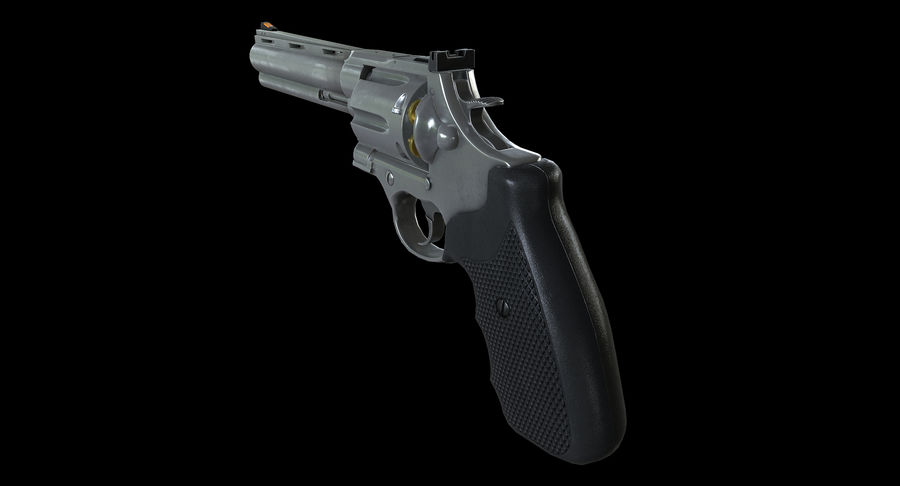 44 Magnum royalty-free 3d model - Preview no. 5