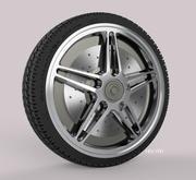Tire 6 3d model
