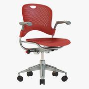 Détail Herman Miller Caper Multitask Chair 3d model