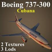 B733 CUB 3d model