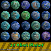Planets M系列(混合器) 3d model