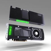 GTXタイタン 3d model