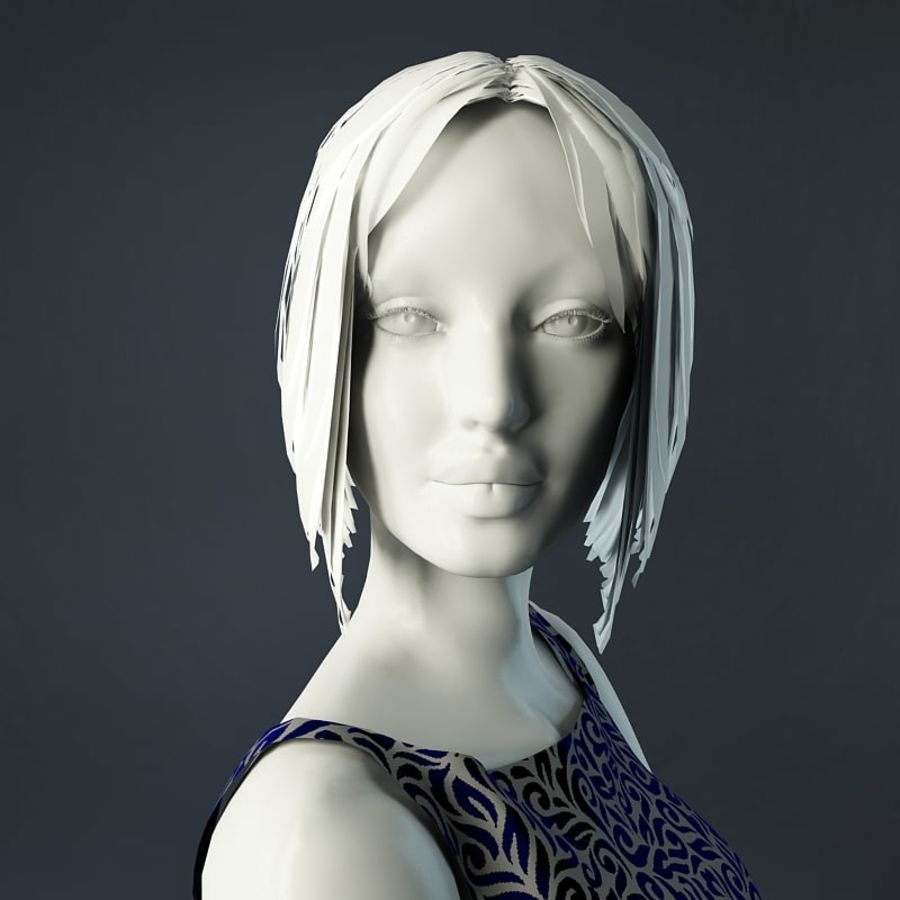 Manichino donna royalty-free 3d model - Preview no. 14