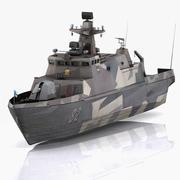 하미나 미사일 보트 3d model