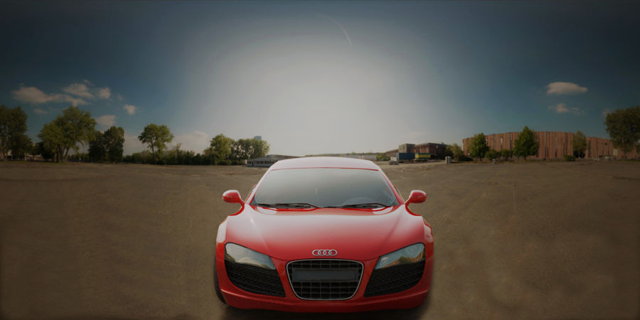 Audi R8 V10 royalty-free 3d model - Preview no. 7