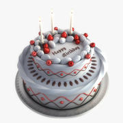 Geburtstagskuchen 3d model