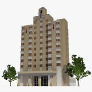 National Hotel 3d model