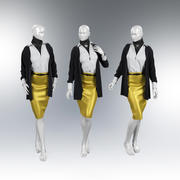 Frauen-Schaufensterpuppe 3d model