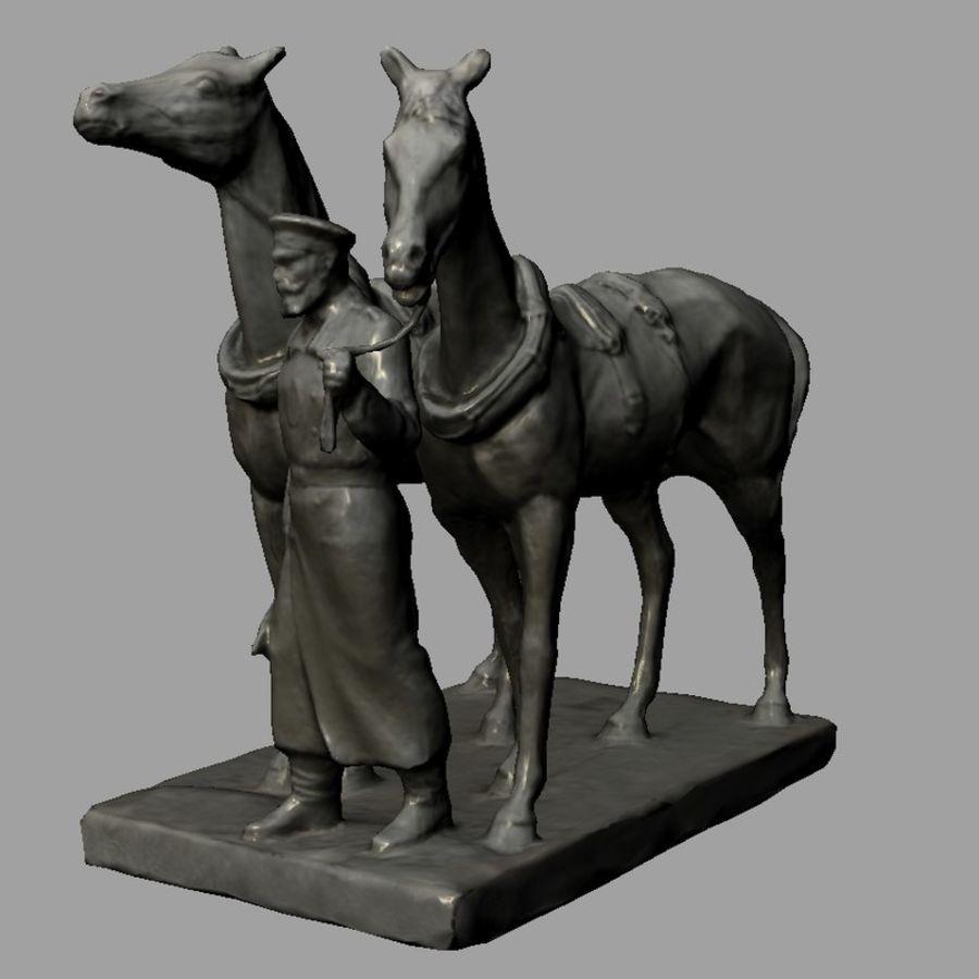 馬車 royalty-free 3d model - Preview no. 3