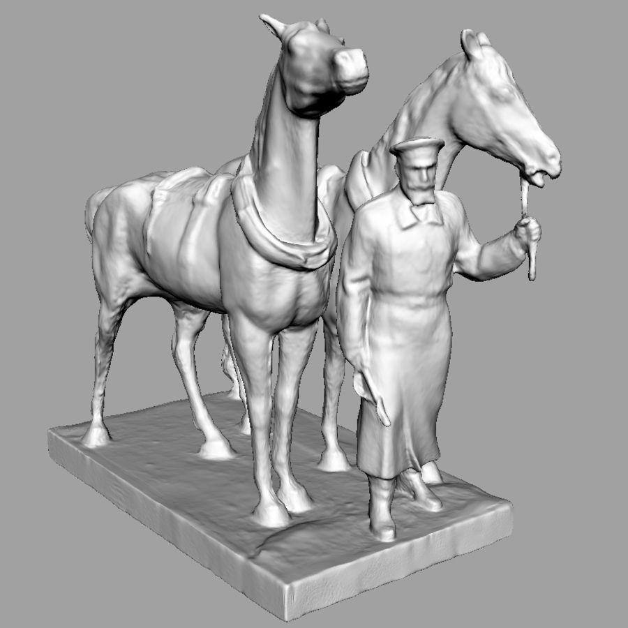馬車 royalty-free 3d model - Preview no. 6
