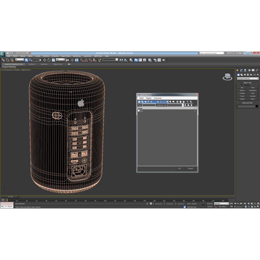 Apple Mac Pro Collection royalty-free 3d model - Preview no. 54
