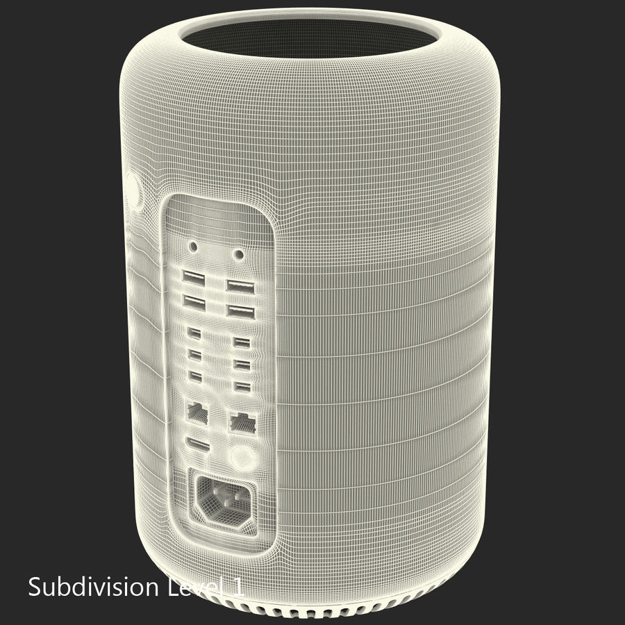 Apple Mac Pro Collection royalty-free 3d model - Preview no. 40