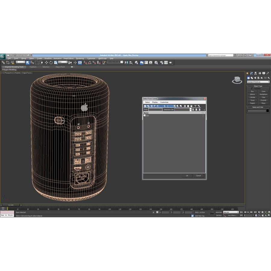 애플 맥 프로 컬렉션 royalty-free 3d model - Preview no. 54