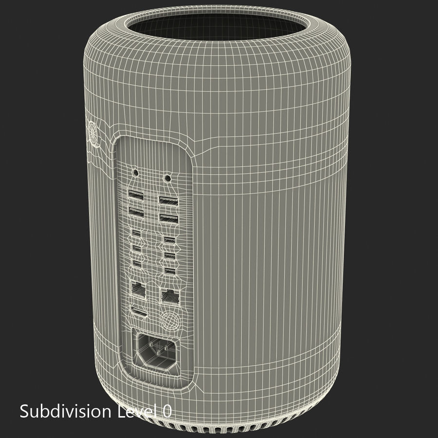 Apple Mac Pro Collection royalty-free 3d model - Preview no. 39
