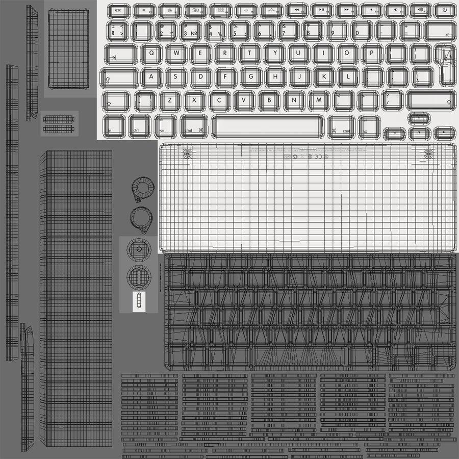 애플 맥 프로 컬렉션 royalty-free 3d model - Preview no. 45