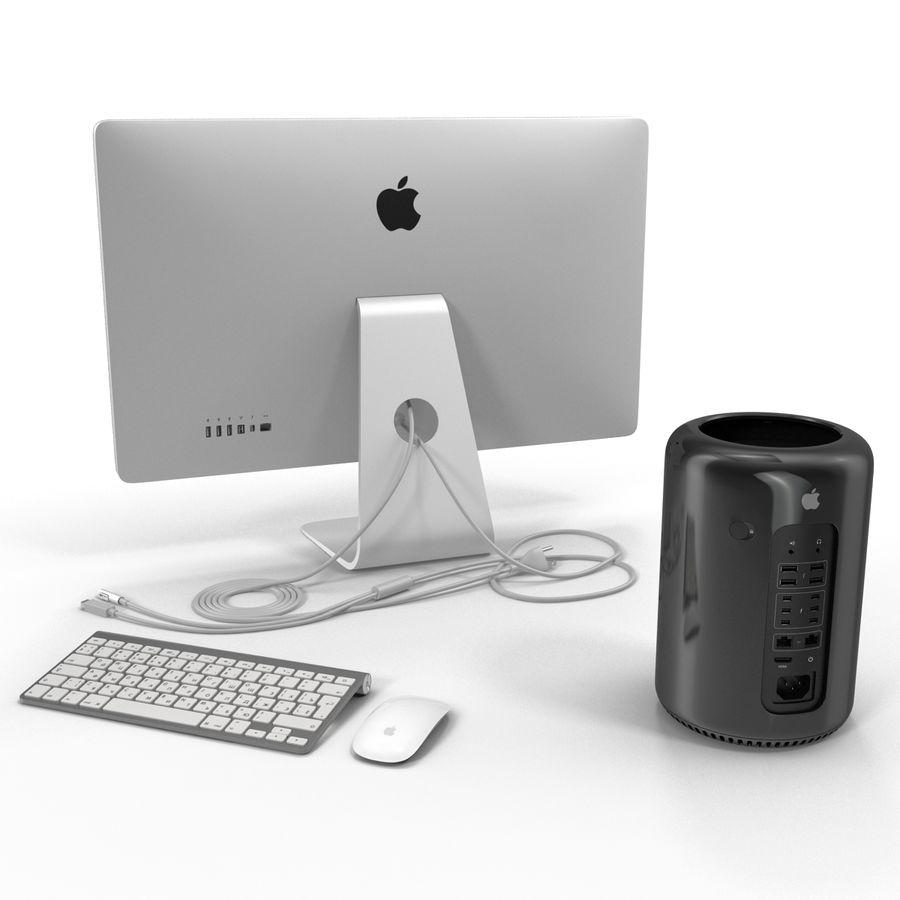 애플 맥 프로 컬렉션 royalty-free 3d model - Preview no. 10