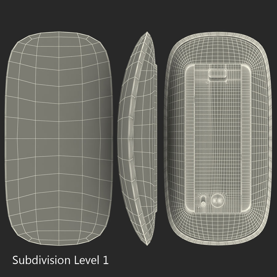Apple Mac Pro Collection royalty-free 3d model - Preview no. 42