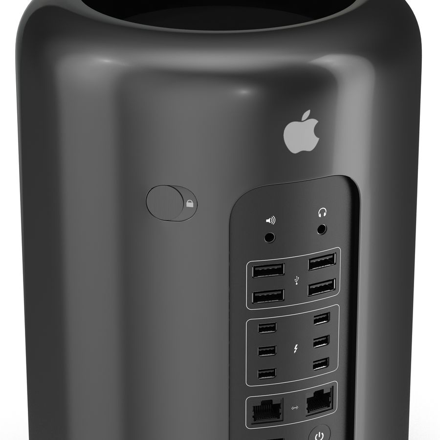 애플 맥 프로 컬렉션 royalty-free 3d model - Preview no. 30
