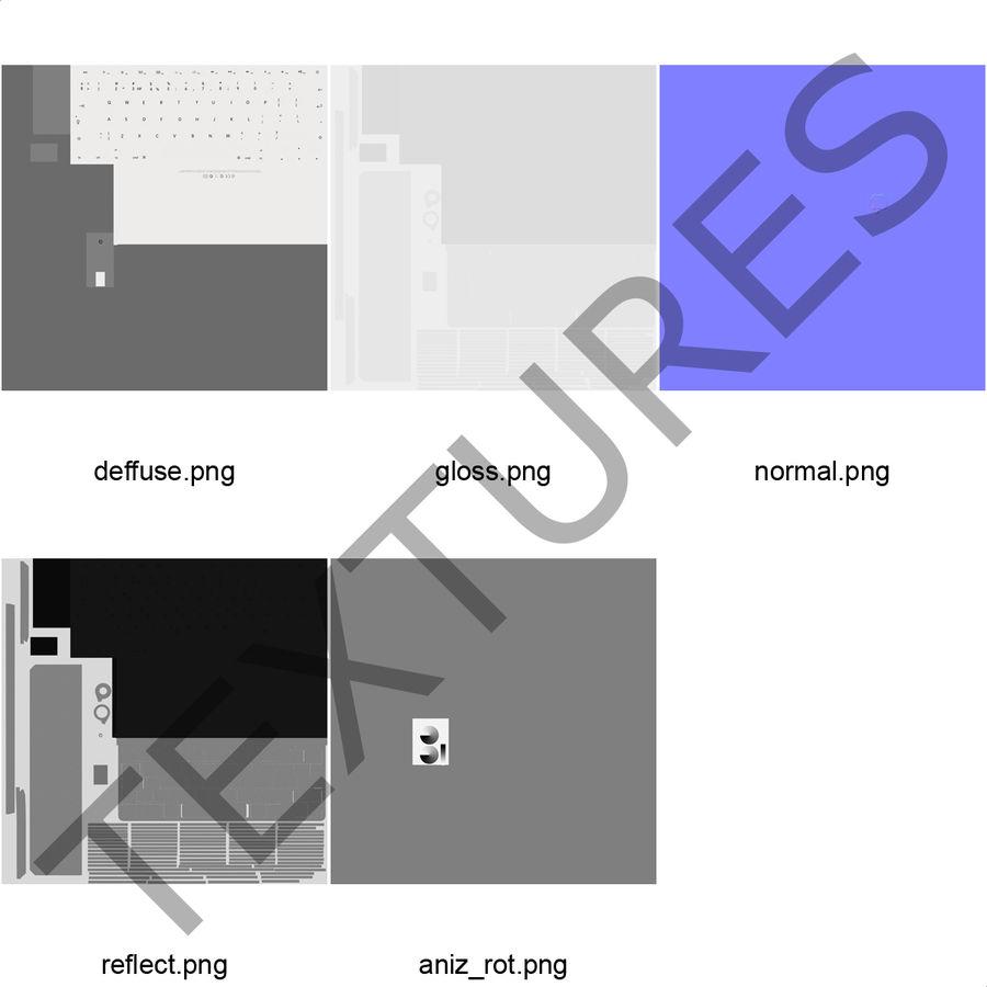 애플 맥 프로 컬렉션 royalty-free 3d model - Preview no. 51
