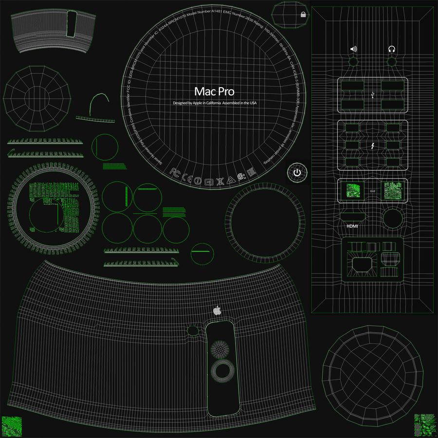 애플 맥 프로 컬렉션 royalty-free 3d model - Preview no. 47