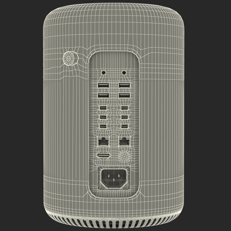 Apple Mac Pro Collection royalty-free 3d model - Preview no. 59