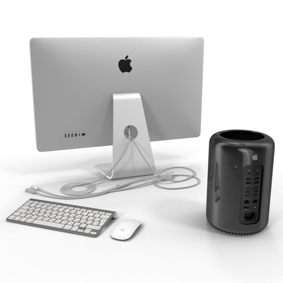 Apple Mac Pro Collection royalty-free 3d model - Preview no. 10