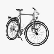 Touring Bicycle 3d model