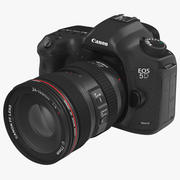 디지털 카메라 Canon EOS 5D Mark III 3d model