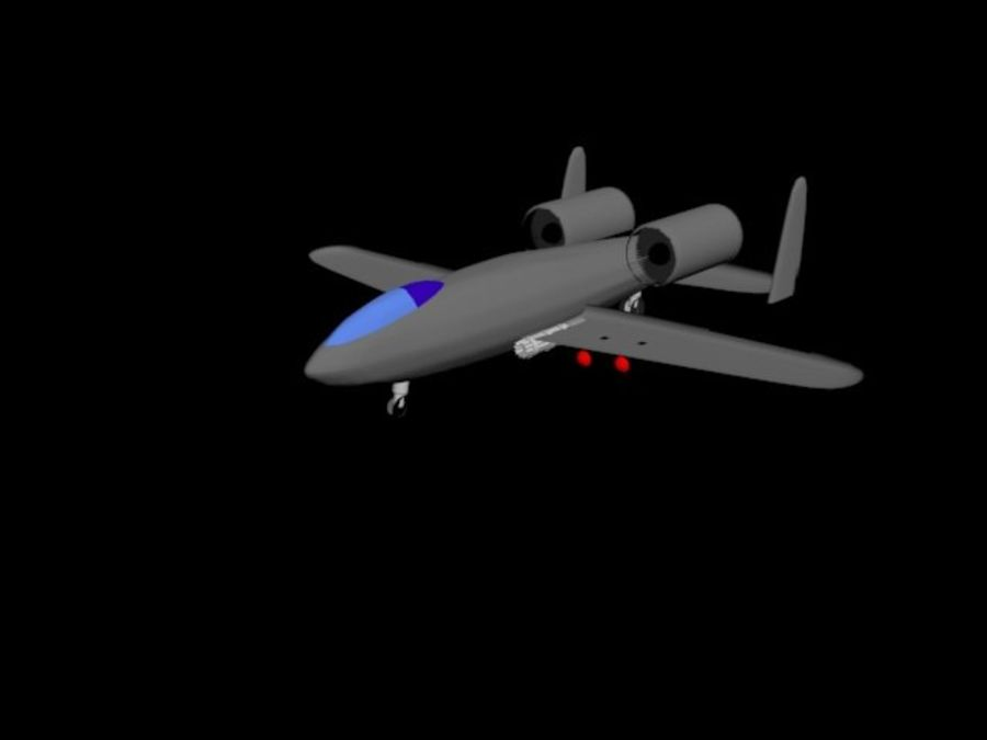 Phacochère A10 royalty-free 3d model - Preview no. 1