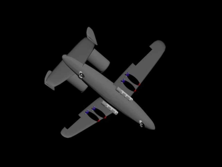 Phacochère A10 royalty-free 3d model - Preview no. 2