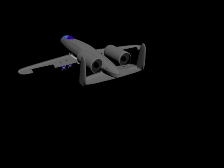 Phacochère A10 royalty-free 3d model - Preview no. 3