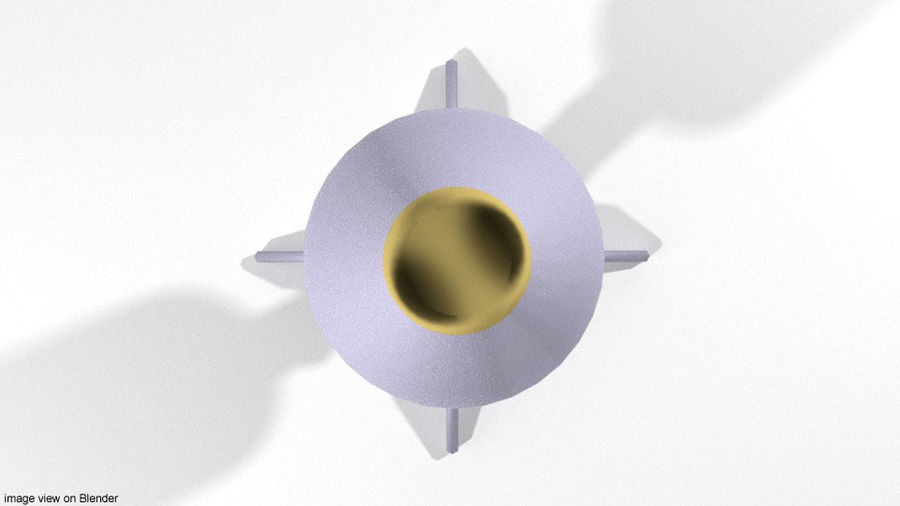 Rocket Launcher - Projectile - HEAT royalty-free 3d model - Preview no. 3