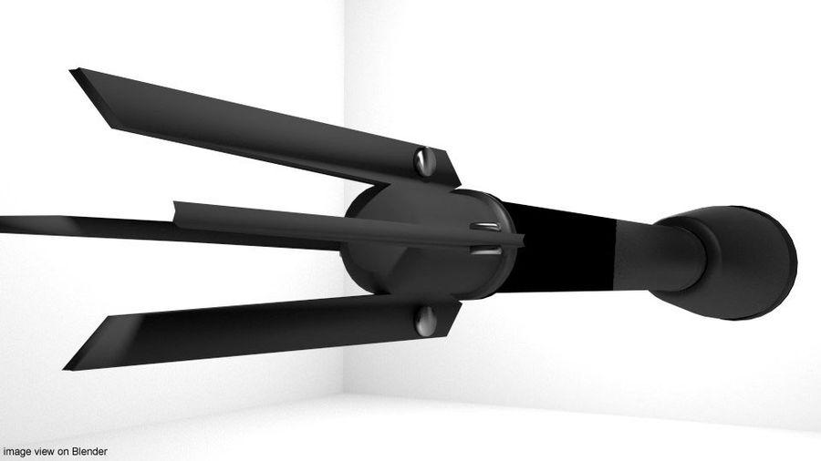 Rocket Launcher - Projektil - M7A1 royalty-free 3d model - Preview no. 3