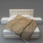 bed 침대 3d model